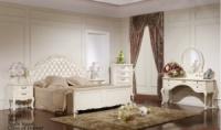 Спальня «Эпока» модель 8686 (белая с патиной)