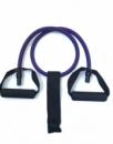 Эспандер 1.2 метр фиолетовый 12 мм + дверной якорь