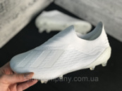 Бутсы Adidas X 18.1 / копы адидас/без шнурков(реплика)