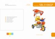 SBL3106GP детский трёхколесный велосипед