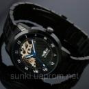 Мужские механические наручные часы Winner Supreme Black