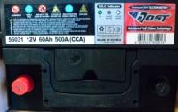 Аккумулятор Bost 56031 60Aч L