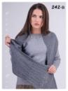 Шарф женский теплый шерсть + ангора