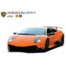 Машинка микро р/у 1:43 лиценз. Lamborghini LP670 (черный, оранжевый)