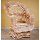 Кресло плетеное из лозы «Элитное»