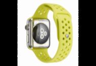 Ремешок Grand для смарт-часов Apple Watch 42 мм Sport Yellow (AL1517)