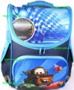 Рюкзак каркасный ортопедический школьный для мальчика Тачки, Тягач Мэтр, Cars