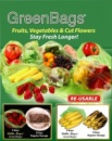 Пакеты для хранения продуктов Green Bags - Грин Бэгс (овощи и фрукты)