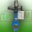 Задвижка шиберная 200EE 150 GG25 SS304 EPDM