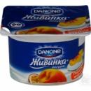 Йогурт Живинка Данон (Danone) персик-маракуйя 1.5% 115г