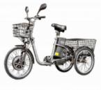 Электровелосипед трехколесный грузовой HAPPY 2019 + реверс