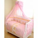 Постельный комплект Twins Comfort C-008 Медуны, розовый