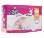Подгузки Helen Harper Baby 24шт. 1-й размер