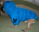 Куртка стеганная синяя. Зима.