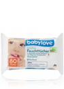 Детские влажные салфетки - Babylove sensitive Feuchttücher 80 шт