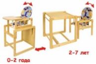 Стульчик трансформер для кормления Klups AGNIESZKA III