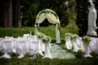 Оформление свадебных мероприятий