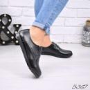 Туфли лоферы Erma черные кожа