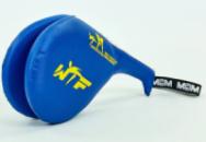 Ракетка для тхэквондо двойная WTF 4746-BL синяя