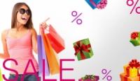 Акционная распродажа одежды