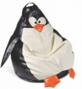 Кресло-мешок «Пингвин» из экокожи
