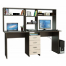 Компьютерный стол с надстройкой «Гамильтон».