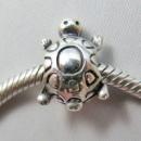 Пандора Черепаха Шарм серебро черепашка