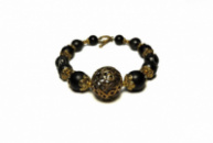 Женский браслет N18 Жадеит и Шунгит (955018)