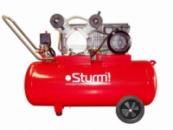 Воздушный компрессор 2400 Вт, 100л Sturm AC93103