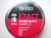 JSB Exact Jumbo Heavy 500 шт. кал 5.52, штам0, 1,175 гр