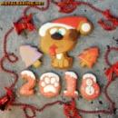 Новогодние Пряники «Год Собаки»