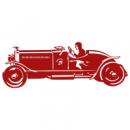 Виниловый Стикер Sport Car