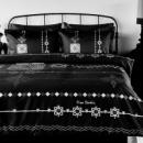 Постельное белье Pierre Cardin Ottoman черное евро