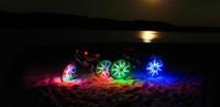 Велосипедная подсветка на колёса