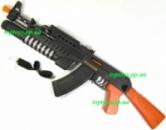 Автомат Калашникова АК-74, звук, свет, двигается патрон и ствол при выстреле, длина 52см