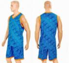 Форма баскетбольная мужская CAMO LD-8003-3 голубой