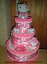 Торт из подгузников «КИТТИ»