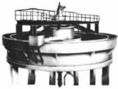 Червячный редуктор магнитного дешламатора МД-5А