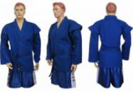 Кимоно для самбо Matsa синее
