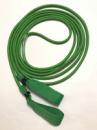 Эспандер для лыжника, боксера, пловца и фитнеса с ручками 10 мм, зеленый, 6 метров