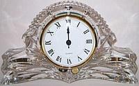 Хрустальные часы Bohemia 27см