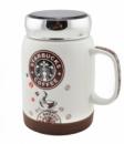 Чашка керамическая кружка Starbucks SH 025-1 Brown