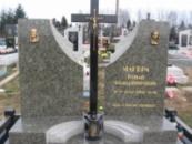 Двойное надгробие №7