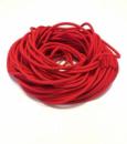 Жгут спортивный резиновый в тканевой оплетке ( резина, d-10 мм, I-600 см, красный ) rez.zhyt10red