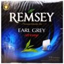 Чай черный REMSEY Earl Grey strong 75 пакетиков