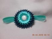 Повязка для головы «Бриз» для девочек от нашего автора handmade - Людмилы Желтяковой!