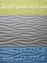 Форма силиконовая для 3D панели 072