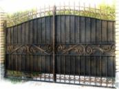 Изготовление ворот металлических