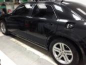Chrysler 300C полная оклейка в белый мат