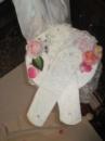Свадебные перчатки белого цвета